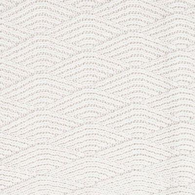Jollein tæppe River Knit 75 x 100 cm fleece cremehvid