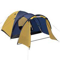 vidaXL 4-personers telt gult