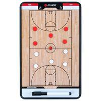 Pure2Improve dobbeltsidet basketballtrænertavle 35 x 22 cm P2I100620