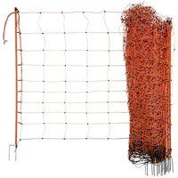 Neutral elektrificeret fårenet OviNet 108 cm orange