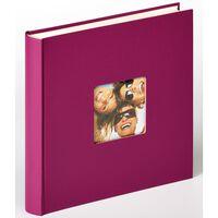 Walther Design fotoalbum Fun 30x30 cm 100 sider violet