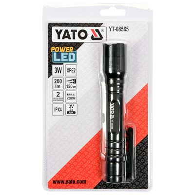 YATO lommelygte Cree XPE2 3W