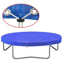 vidaXL trampolindække PE 360-367 cm 90 g/m²