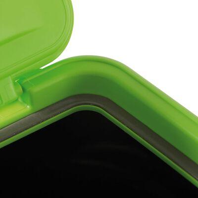 MAELSON beholder til dyrefoder 15 kg sort og grøn