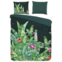 Good Morning sengetøj CATO 155x220 cm grøn