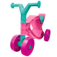 BIG løbecykel Flippi lyserød og turkis