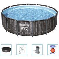 Bestway Steel Pro MAX swimmingpoolsæt rund 427x107 cm