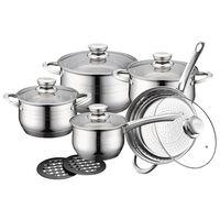 Gryde-, Stege- og Kasserollesæt - 5 Køkkengrej