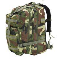 vidaXL rygsæk i militærstil 50 l camouflage