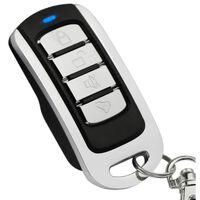 Fjernbetjening til automatiske døre / garageport - sort / sølv