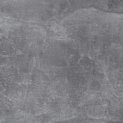 FMD tv-bord betongrå og blank hvid