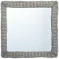 vidaXL spejl 60x60 cm flet