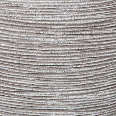 Capi krukke Nature Rib tilspidset 42 x 38 cm elfenbensfarvet KOFI362