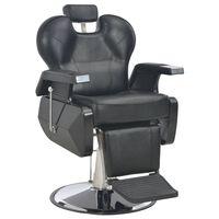 vidaXL frisørstol sort 72 x 68 x 98 cm kunstlæder