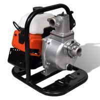 vidaXL benzindrevet vandpumpe 2-takts 1,2 kW 0,95 l