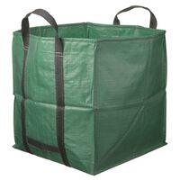 Nature affaldssæk til haven firkantet grøn 325 l 6072401
