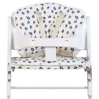 CHILDHOME universal sædehynde til højstol jerseybomuld leopard