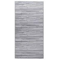 vidaXL udendørstæppe 190x290 cm PP grå