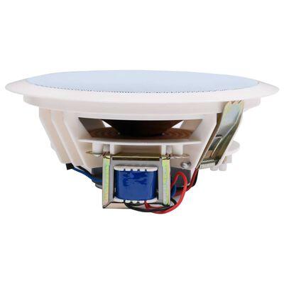 vidaXL indbygningshøjttalere til væg og loft 2 stk. med diskant 240 W