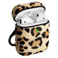 Airpods Taske - Stødsikker Beskyttelse - Leopardmønster