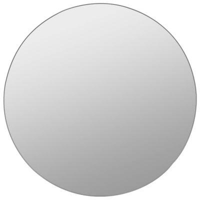 vidaXL vægspejlssæt i 7 dele rundt glas