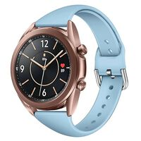 Sport Armbånd Til Samsung Galaxy Watch 3 (41mm) - Lyseblå