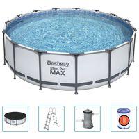 Bestway Steel Pro MAX swimmingpoolsæt 457x122 cm rund
