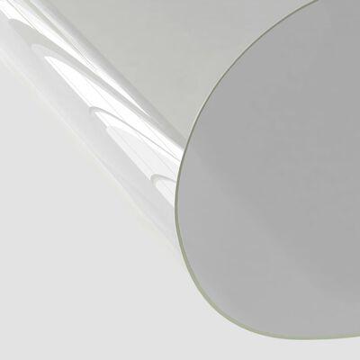 vidaXL bordbeskytter 120x90 cm 2 mm PVC transparent