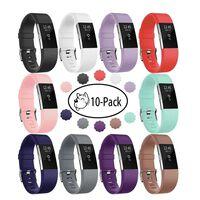 Fitbit Charge 2 Armbånd - Pakke Med 10 Armbånd