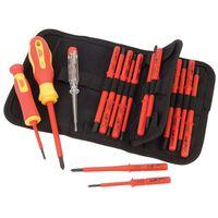 Draper Tools spændingstester og isoleret skruetrækkersæt 18 dele 05776