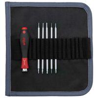 Wiha skruetrækkertaske 6 dele med udskifteligt bladsæt SYSTEM 4