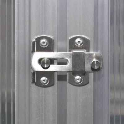 vidaXL drivhus forstærket aluminium 3,46 m²