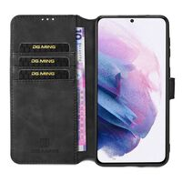 Dg-ming Wallet 3-kort Samsung Galaxy S21 Plus-sort