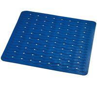 RIDDER skridsikker brusemåtte Playa 54 x 54 cm blå 68403