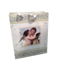 Victoria's Design Gavepose Angel glitter 2-pack 18x23 cm