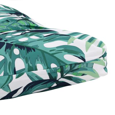 vidaXL udendørs sædehynde 120 x 80 x 10 cm stof grøn