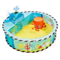 Worlds Apart pop op-boldgrav Ocean 80 x 80 x 20 cm flerfarvet