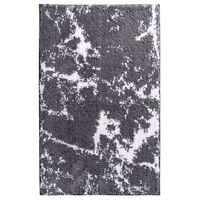 RIDDER bademåtte Marmor 90 x 60 cm gråhvid