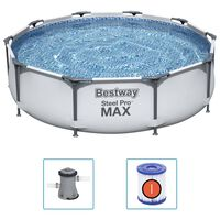Bestway swimmingpoolsæt Steel Pro MAX 305x76 cm