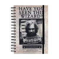 Harry Potter, Notesblok A5 - Sirius Black