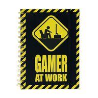 Notesbog - Gamer at Work, A5