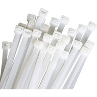 Bånd, Der Kan Genbruges 100-pakke Hvid (9,6x350mm)