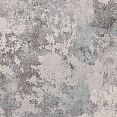 DUTCH WALLCOVERINGS tapet beton mørkegrå