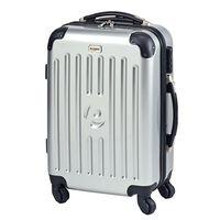 Princess Traveller kuffert New York str. S sølvfarvet