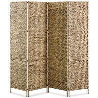 vidaXL 4-panelers rumdeler 154 x 160 cm vandhyacint