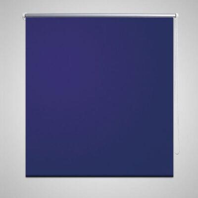 Mørklægningsrullegardin 120 x 175 cm marineblå