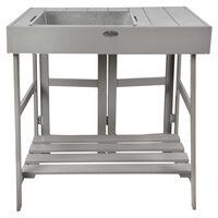 Esschert Design plantebord grå
