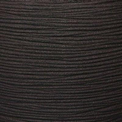 Capi krukke Nature Rib elegant lav 46 x 58 cm sort KBLR783