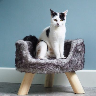 DISTRICT70 katteseng i plys NORDIC sølvfarvet