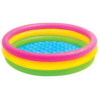 Intex oppustelig pool Sunset 3 ringe 147x33 cm